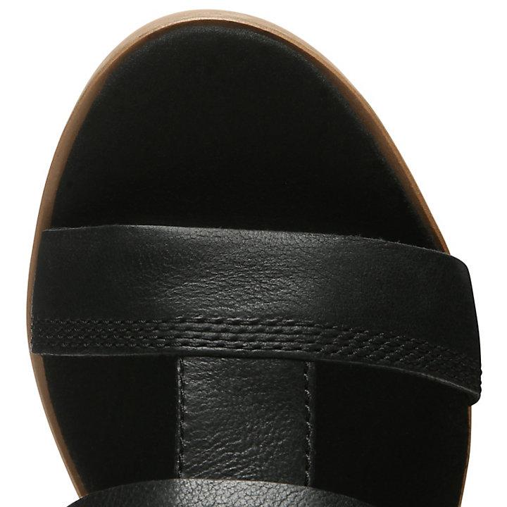 Tallulah May T-Steg-Sandalette für Damen in Schwarz-