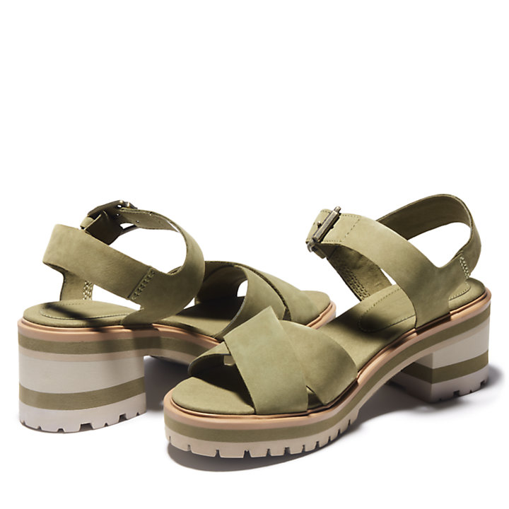 Violet Marsh Sandal for Women in Green-