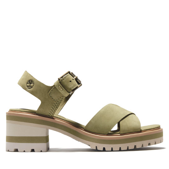 Violet Marsh Sandal for Women in Green | Timberland