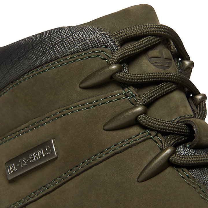 Euro Sprint Leather Hiker for Men in Green-