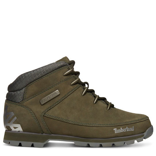Euro Sprint Leather Hiker voor Heren in Groen | Timberland