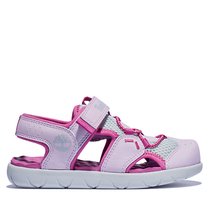 Perkins Row Fisherman Sandal for Youth in Pink-