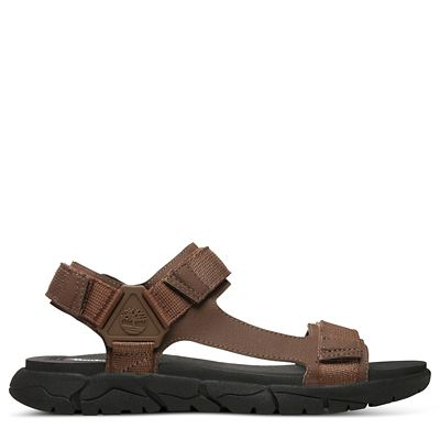 Windham+Trail+Sandal+for+Men+in+Brown