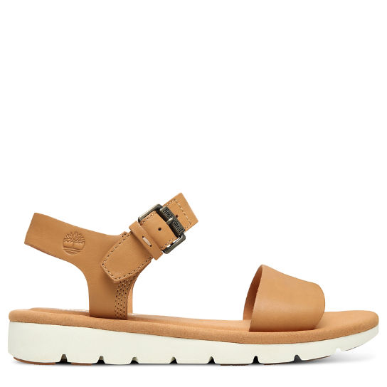 Lottie Lou Sandal for Women in Light Brown | Timberland