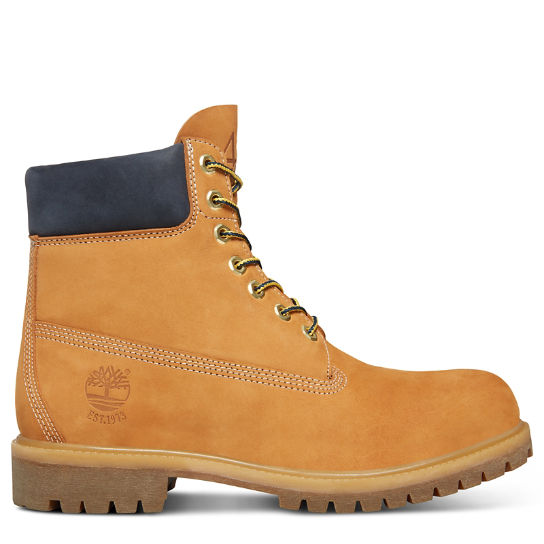 45th Anniversary 6 Inch Boot for Men in Yellow/Sapphire | Timberland