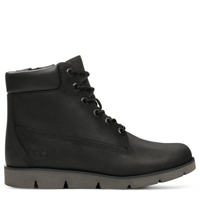Radford+6+Inch+Boot+for+Junior+in+Black