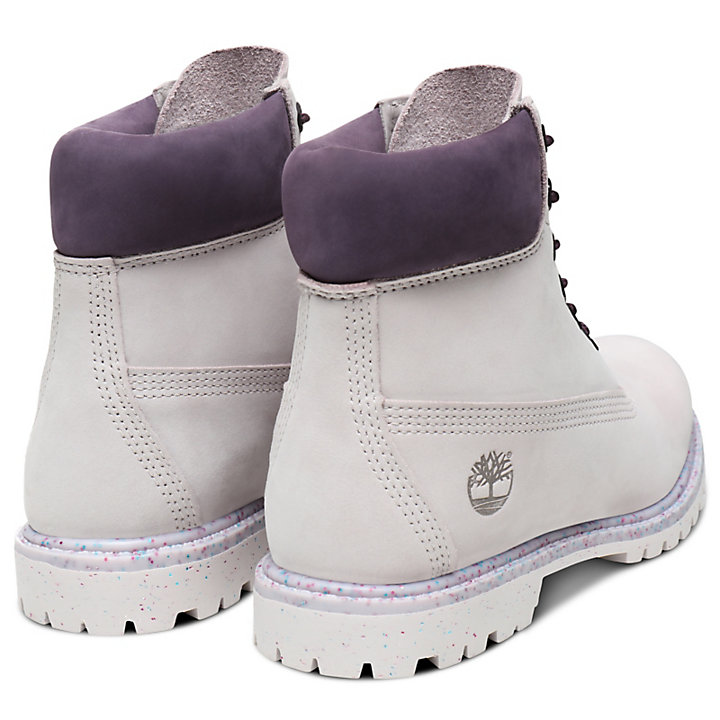 Ice Cream 6 Inch Premium Boot for Women in Mauve-