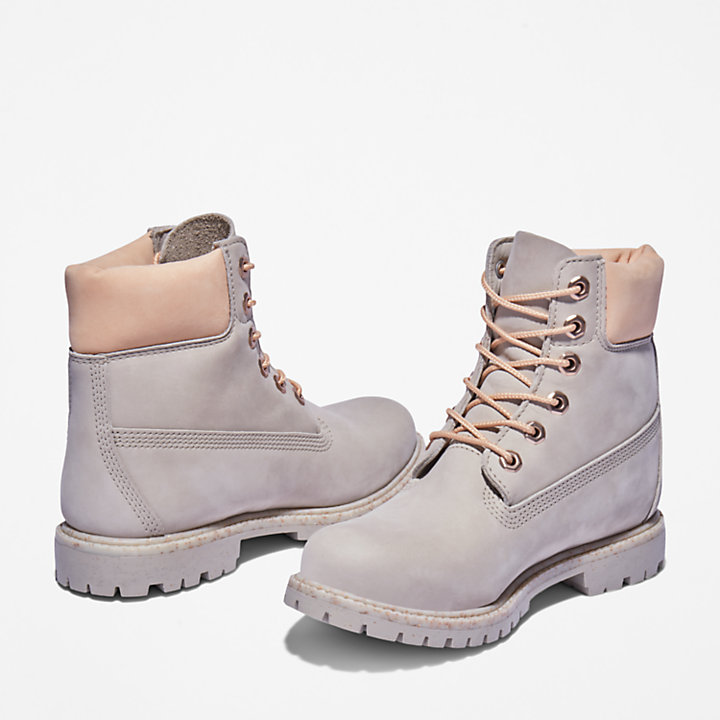 Ice Cream 6-Inch-Premium-Stiefel für Damen in Taupe-