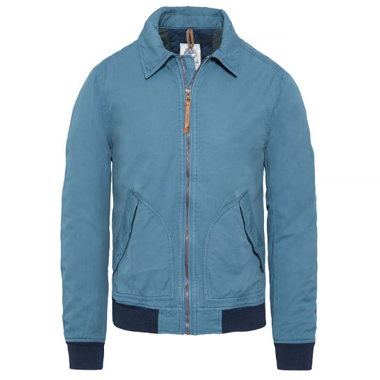 Men's Stratham Winter Bomber Jacket Blue | Timberland