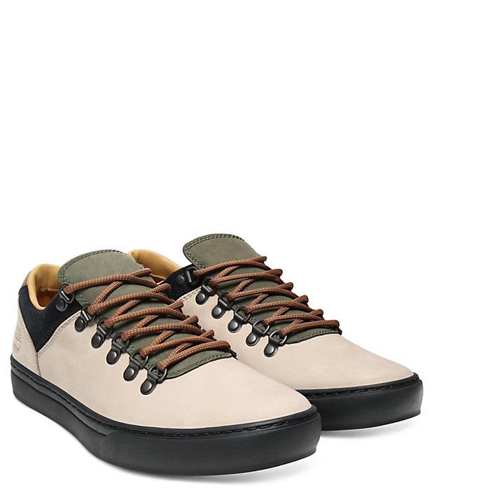 Adventure 2.0 Cupsole Sneaker voor Heren in Beige/Groen-