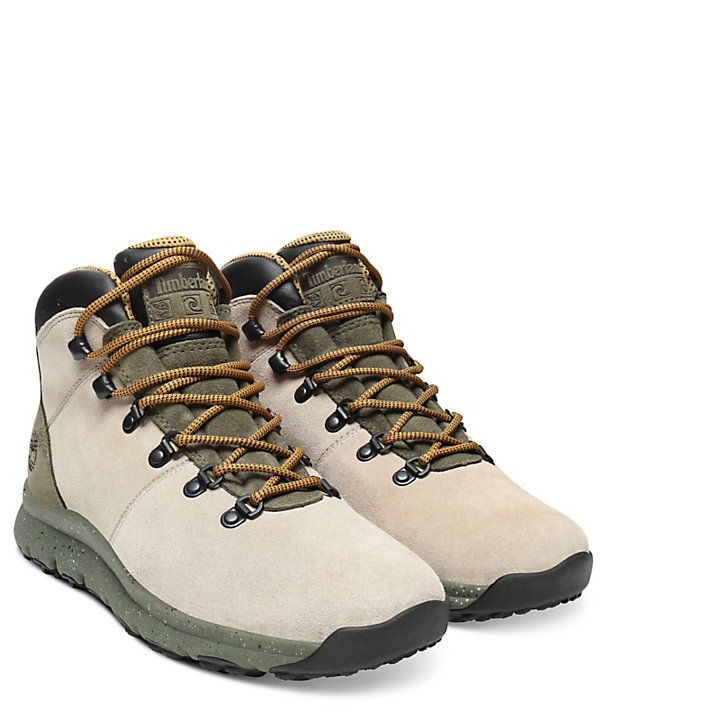 World Hiker Mid Boot for Men in Taupe-