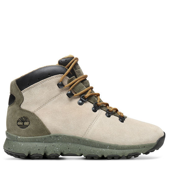 World Hiker Mid Boot for Men in Taupe | Timberland
