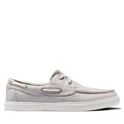 Union+Wharf+Boat+Shoe+for+Men+in+Pale+Grey
