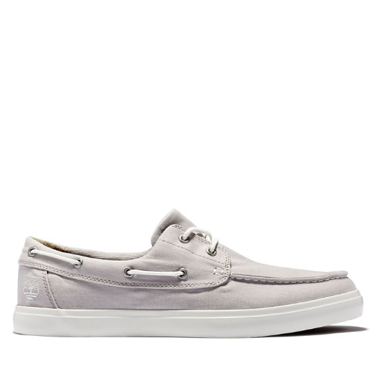 Union Wharf Boat Shoe for Men in Pale Grey | Timberland