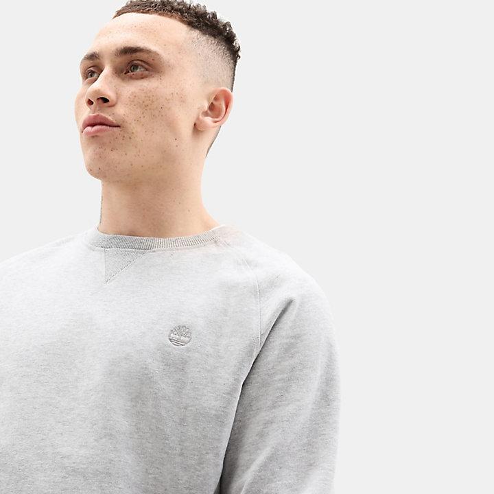 Exeter River Crew Sweatshirt für Herren in Grau-