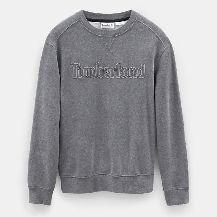 Taylor River Sweatshirt voor Heren in Donkergrijs-