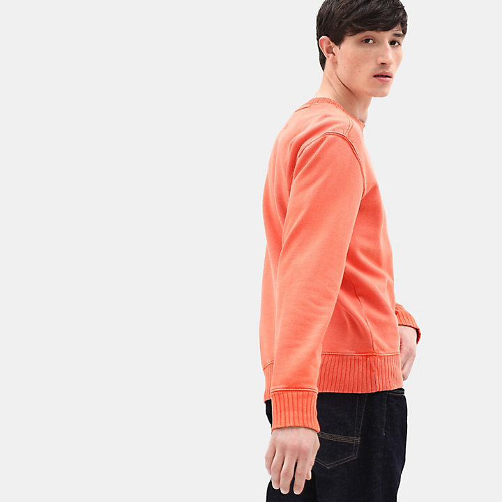 Mad River Crew Neck Sweatshirt for Men in Orange-
