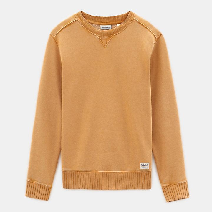 Mad River Rundhalssweatshirt für Herren in Gelb-