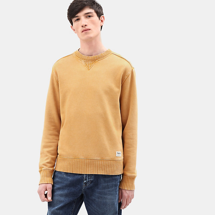 Mad River Crew Neck Sweatshirt for Men in Yellow-