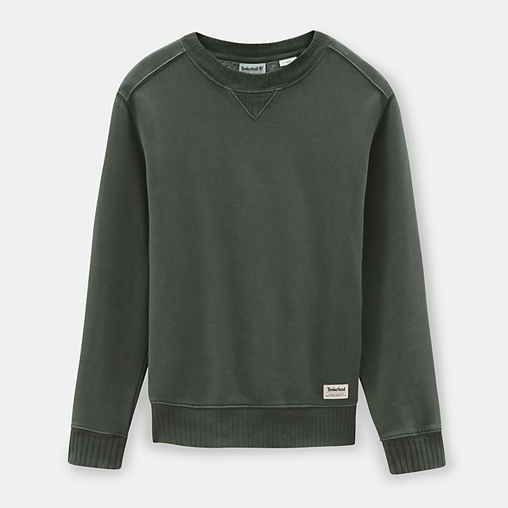 Mad River Crew Neck Sweatshirt for Men in Green-