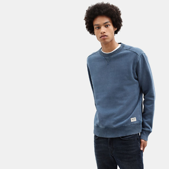 Mad River Crew Neck Sweatshirt for Men in Teal | Timberland