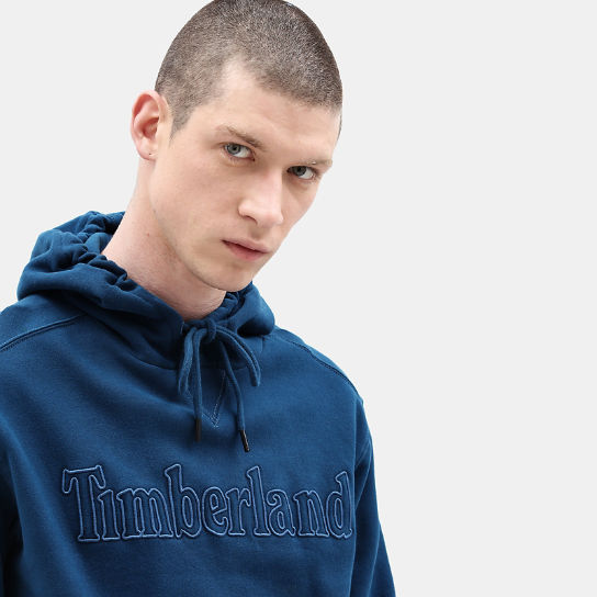 Taylor River Hoodie for Men in Teal | Timberland