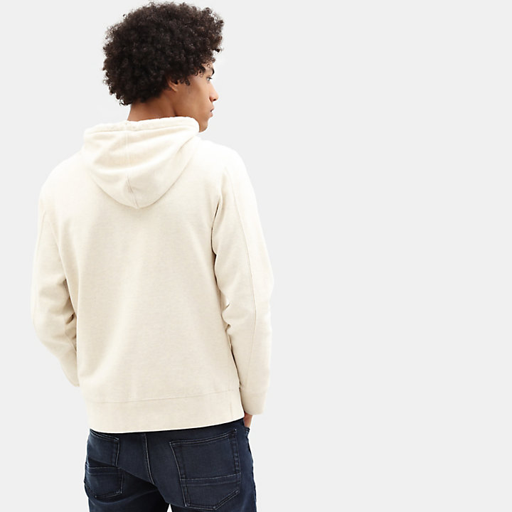 Taylor River Hoodie for Men in White-