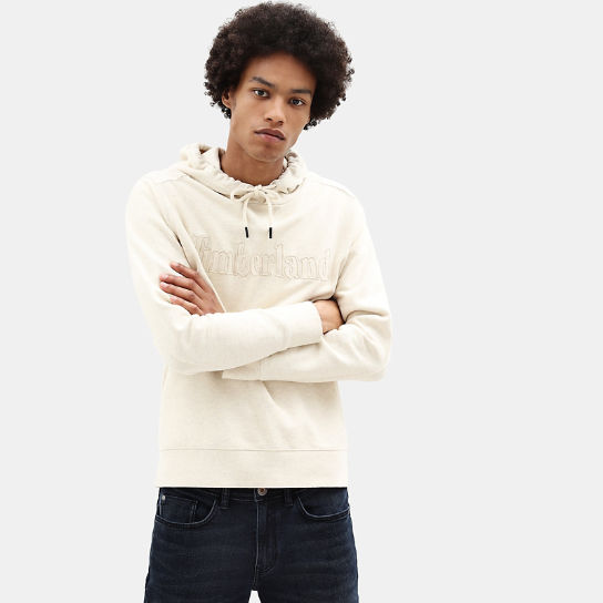 Taylor River Hoodie for Men in White | Timberland