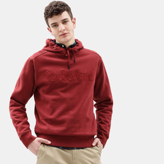 Taylor River Hoodie for Men in Red | Timberland