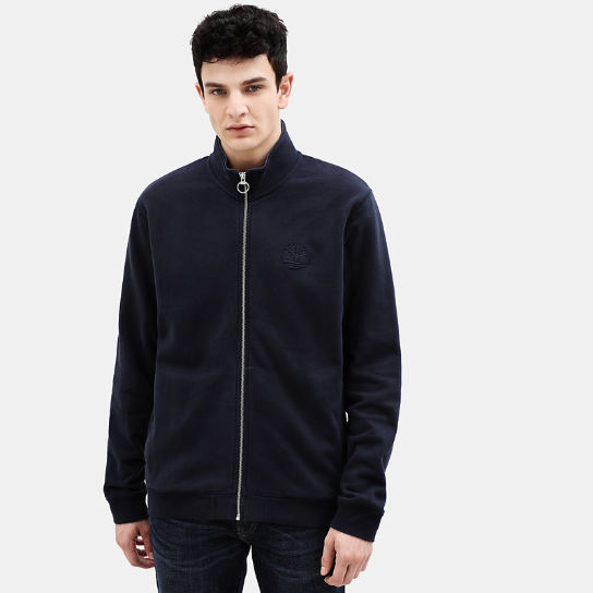 Taylor River Zip Up Top for Men in Navy | Timberland