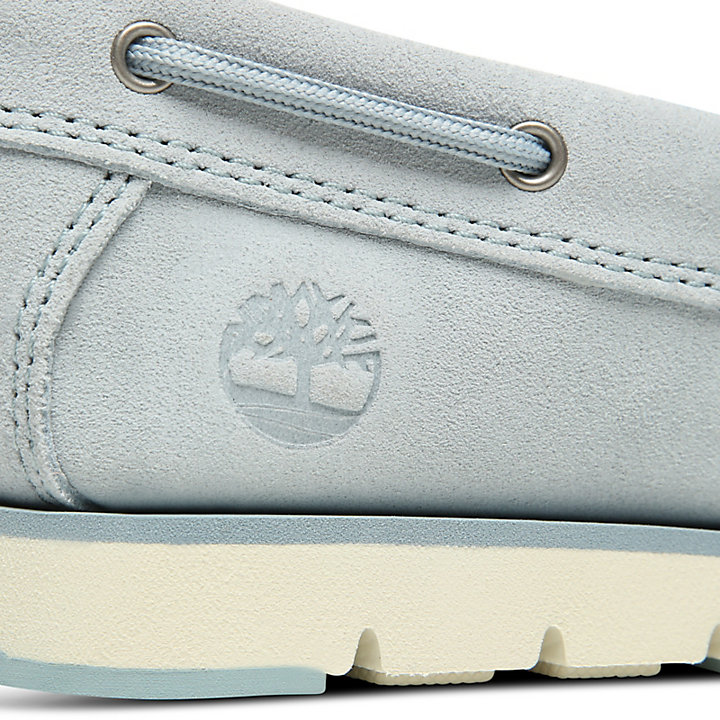 Camden Falls Boat Shoe for Women in Light Blue-