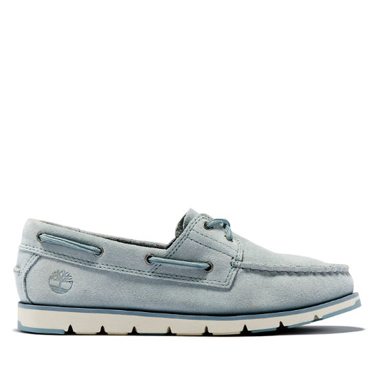 Camden Falls Boat Shoe for Women in Light Blue | Timberland