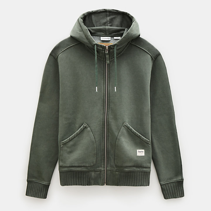 Mad River Hoodie for Men in Dark Green-