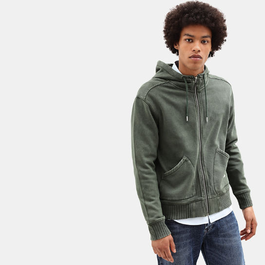 Mad River Hoodie for Men in Dark Green | Timberland