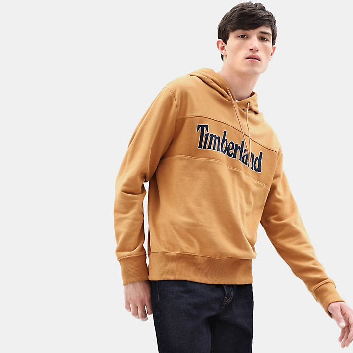 Connecticut River Hoody voor Heren in geel-