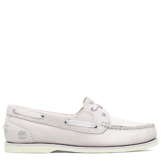 Classic Unlined Boat Shoe for Women in Mauve | Timberland