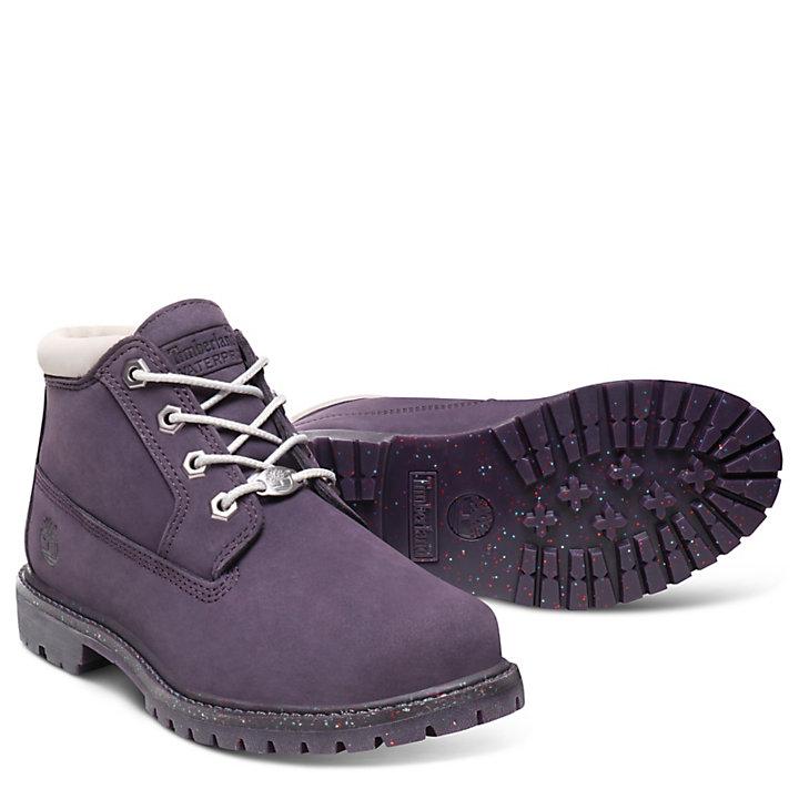 Chukka Nellie para Mujer en Púrpura/Gris Palo-