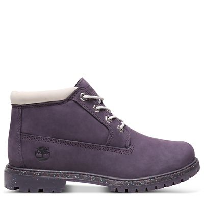 Nellie+Chukka+for+Women+in+Purple%2FPale+Grey
