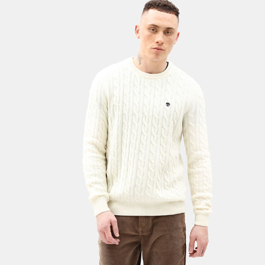 Phillips Brook Strickpullover für Herren in Creme | Timberland