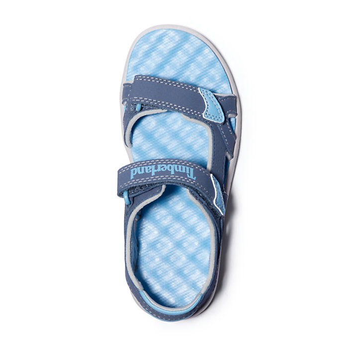 Perkins Row Strappy Sandal for Youth in Dark Blue-