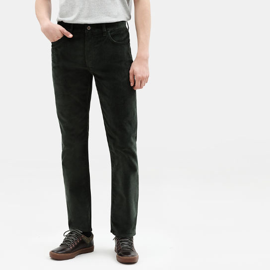 Squam Lake Corduroy Trousers for Men in Dark Green | Timberland