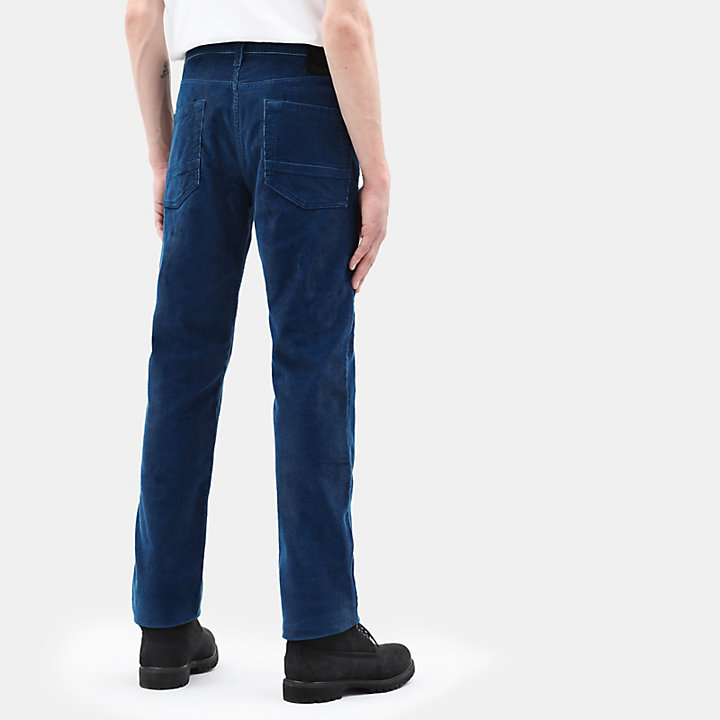 Squam Lake Corduroy Trousers for Men in Teal-