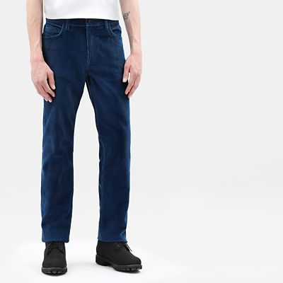 Squam+Lake+Corduroy+Trousers+for+Men+in+Teal