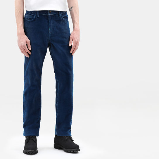Squam Lake Corduroy Trousers for Men in Teal | Timberland