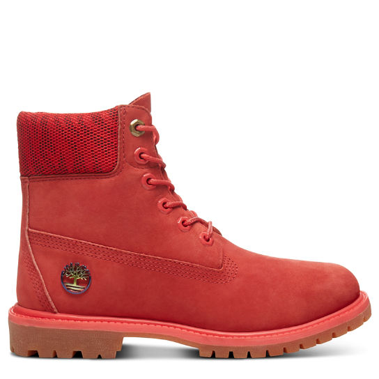 6 Inch Boot Fire for Women in Red | Timberland