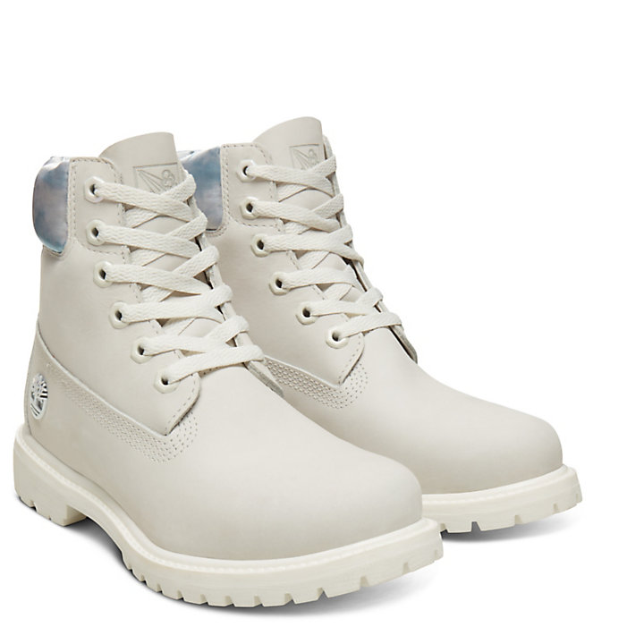6 Inch Boot Air for Women in Pale Grey-