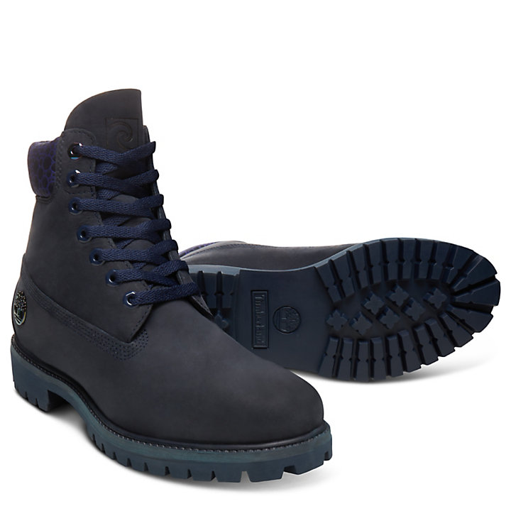 6 Inch Boot Water for Men in Navy-
