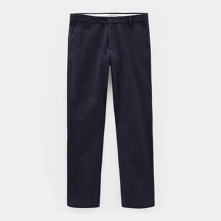 Squam Lake Chino voor Heren in marineblauw-