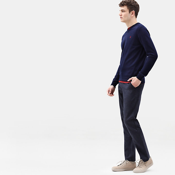 Squam Lake Chinos for Men in Navy-