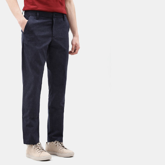 Pantaloni Chino da Uomo Squam Lake in blu marino | Timberland